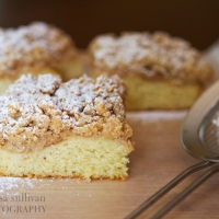 Apple Cinnamon New York Crumb Cake