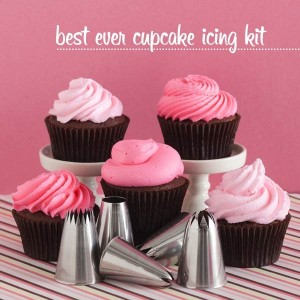 Bake It Pretty Cupcake Icing Kit