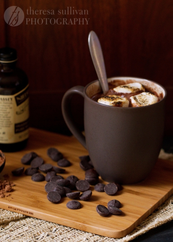 Rich  Creamy 5-Minute Microwave Hot Chocolate For One The