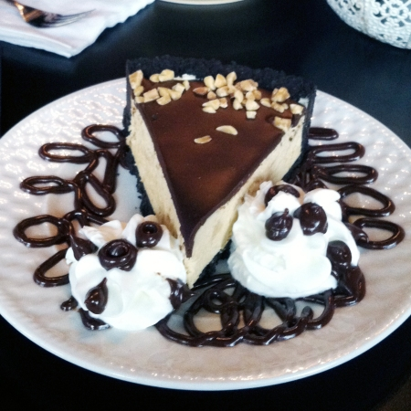 Double Chocolate Peanut Butter Pie @ Lulu's Chocolate Bar