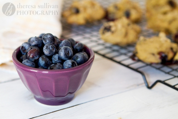 Blueberry Crumb Muffin Cookies