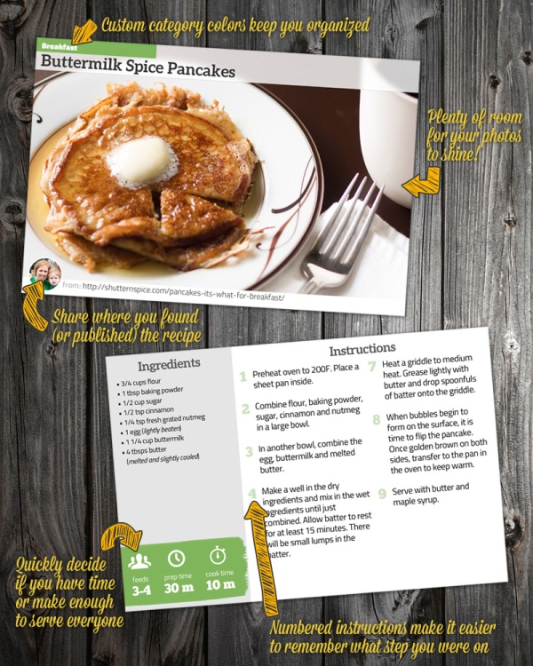 Printable designer recipe cards for keeping or sharing a free saunter studios printable recipe cards forumfinder Choice Image